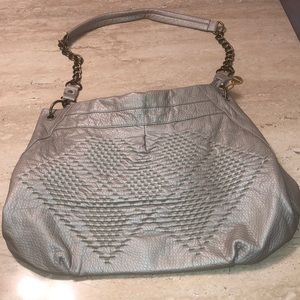 Like New Faux Leather Big Buddha bag.